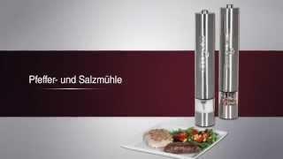 Измельчитель соли и перца 2в1 Profi Cook PC-PSM 1031 Германия от компании PolyMarket - видео