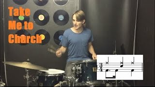 Learn Drums to Take Me to Church by Hozier