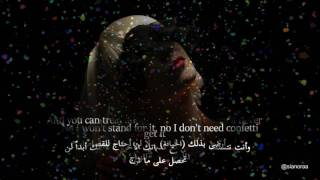 أغنية SIA مترجمة Confetti
