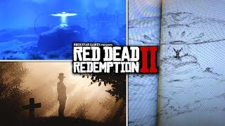 Red Dead Redemption 2 - Secrets & Easter Eggs - Third UFO, Alien Abduction & Strange Man APPEARS!
