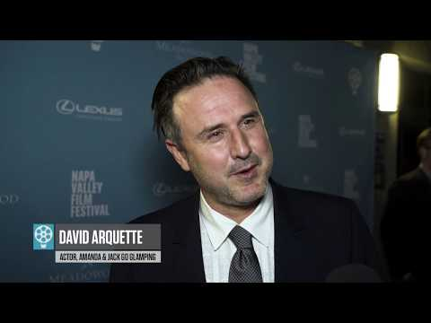 David Arquette on The Red Carpet | Amanda & Jack Go Glamping