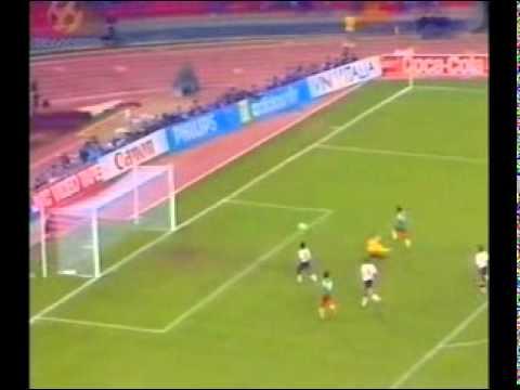 25 – David Platt, England v Cameroon, 1990 World Cup – 90 World Cup Minutes In 90 Days