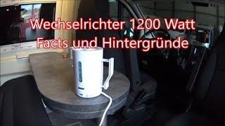 Clever Runner 636 #10 - Fraron Wechselrichter 1200 Watt - Facts und Hintergründe