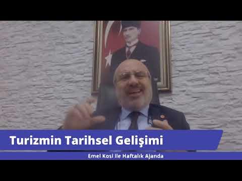 """Rektörümüz, KKTC Kanal T'de """"Turizmi"""" Değerlendirdi"""