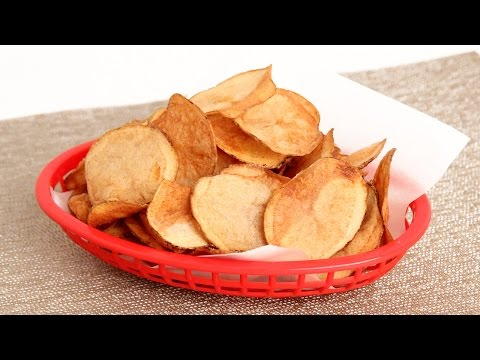 Homemade Potato Chips Recipe - Laura Vitale - Laura in the Kitchen Episode 901