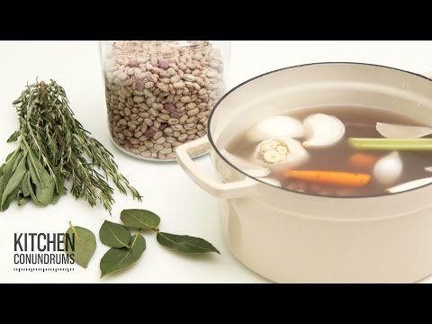 The Trick to Cooking Dried Beans – Kitchen Conundrums with Thomas Joseph