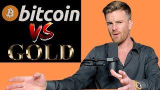 Bitcoin vs gold-Wert des Werts