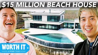 $825K Beach House Vs. $14.9 Million Beach House - Video Youtube