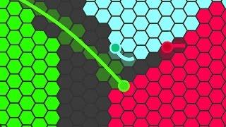 BEST NEW .IO GAME IN 2017! (SuperHex.io)