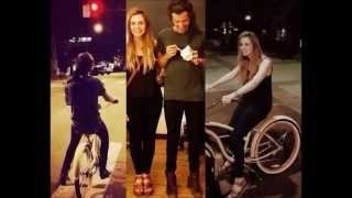 Harry and Gemma Styles