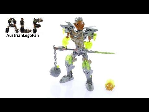 Vidéo LEGO Bionicle 71306 : Pohatu - Unificateur de la Pierre