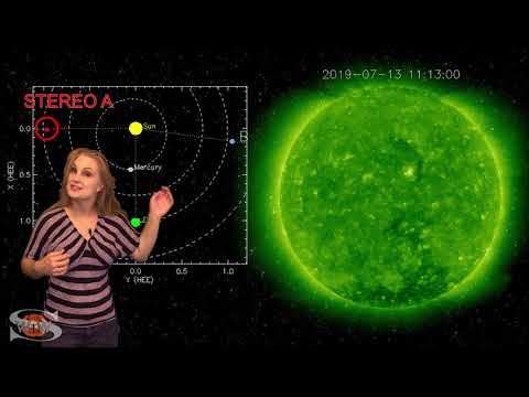 Solar Storm Forecast - July 18, 2019 at 07:37PM