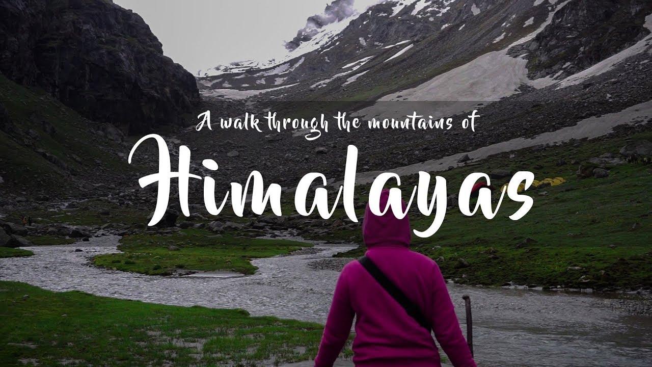 Hamta Pass Chandra Taal Trekking Expedition Video