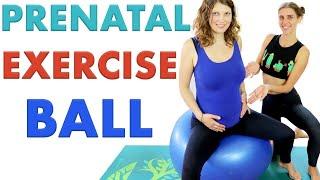 5 Yoga Ball Pregnancy Exercises (Birth Ball)