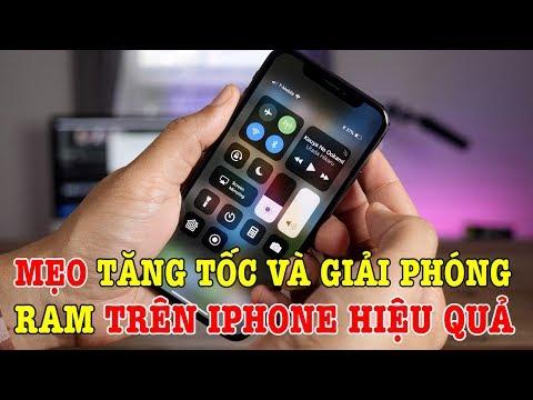 Mẹo tăng tốc và giải phóng RAM trên iPhone cực đơn giản mà hiệu quả