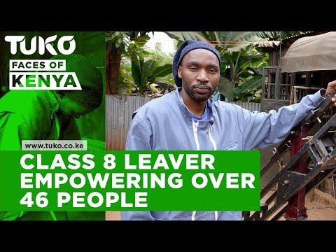 Class 8 leaver empowering 46 men  Tuko TV