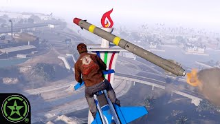 The Most Dangerous Game With Missiles - GTA V