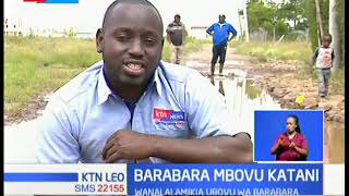 Wakazi wa Katani, wamlaumu Gavana Alfred Mutua kwa hali mbaya ya barabara