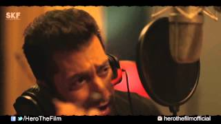 Sallu bhai Making of Main Hoon Hero Tera