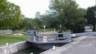 Old Father Thames at St Johns Lock Near Lechlade