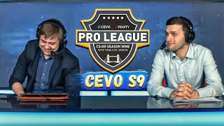 Лучшие моменты CS GO CEVO Gfinity C9