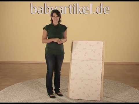 Alvi - Reisebettmatratze Standard mit Tragetasche | Babyartikel.de