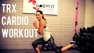 15 Minute TRX Cardio Workout for Fat Burning and Toning by BodyFit By Amy