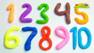 Учим цифры с Пластилином Плей До | Учимся считать от 1 до 20 | Детский канал | Пластилин для детей