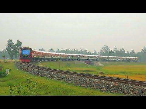 "Grand Inaugural of 1st Semi Non stop Train ""PANCHAGARH EXPRESS"" of Bangladesh Railway"
