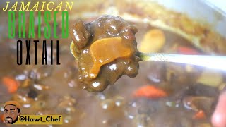 How To Cook Authentic Jamaican Oxtail | NO PRESSURE COOKER | Falls From The Bone