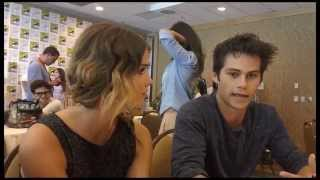 Дилан О'Брайен, Dylan O'Brien and Shelley Hennig 'Teen Wolf' Interview