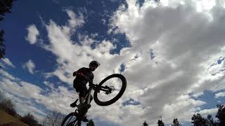 Slopestyle and dirt jumps at ruby hill.