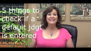If a default judgment is entered against you - check these things!