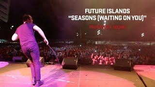 "Future Islands Performs ""Seasons (Waiting on You)"" at Primavera Sound Festival 2014"