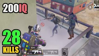 THEY DIDN'T BELIEVE WHAT I DID | 28 KILLS SOLO VS SQUAD | PUBG MOBILE