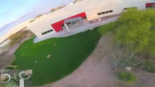 Full Send FPV - Windy Sunset - Low Cam Angle