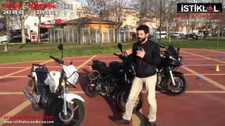 Motosiklet Ehliyet Çeşitleri (A1 - A2 - A sınıfı)
