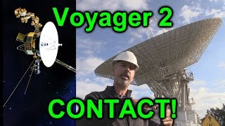 How To Contact The Voyager 2 Probe (PART 1)
