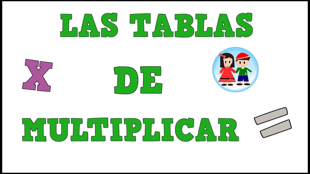 Las Tablas de Multiplicar para Niños - Vídeos educativos para Niñosy Bebés - Paty y Poty
