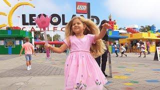 Диана и Рома в Леголенде (Legoland California)
