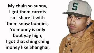 Chris Brown - Convertible [LYRICS ON SCREEN HD]