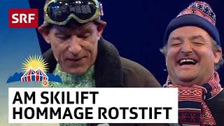 Am Skilift: Hommage An Das Cabaret Rotstift | 25 Jahre Arosa Humor   Festival | SRF Comedy