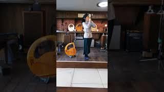 竪琴の安達摩澄先生が指笛を、、、☆彡