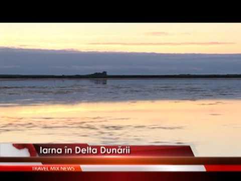 Iarna in Delta Dunarii