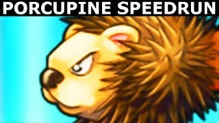Octogeddon - All Porcupine Weapon Upgrades - Full Game Speedrun (No Commentary Playthrough)