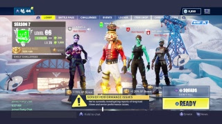 FORTNITE SEASON 7 PS4 LIVE (FORTNITE BATTLE ROYALE)