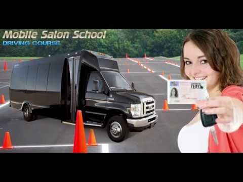 Help Your Barbers & Stylists go to School and get a Mobile Salon Bus!