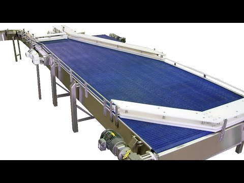 Video - Product Accumulation Tables   Laughlin Conveyor