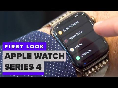 First look: Apple Watch Series 4