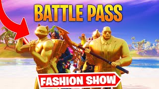 *BATTLE PASS* Fortnite Fashion Show! FIRE Skin Competition! Best DRIP & COMBO WINS!